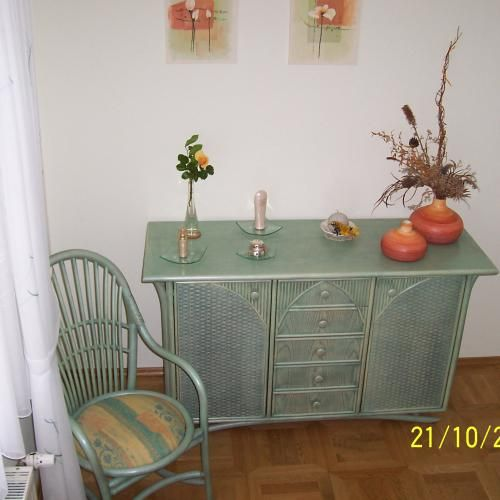 Rattan - Sideboard, Kommode Art. 50913