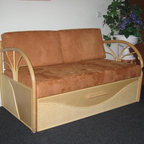 rattan auszugsofa art 19814. Black Bedroom Furniture Sets. Home Design Ideas