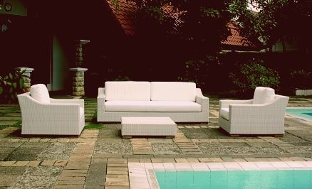 Cartesio Gartensofa