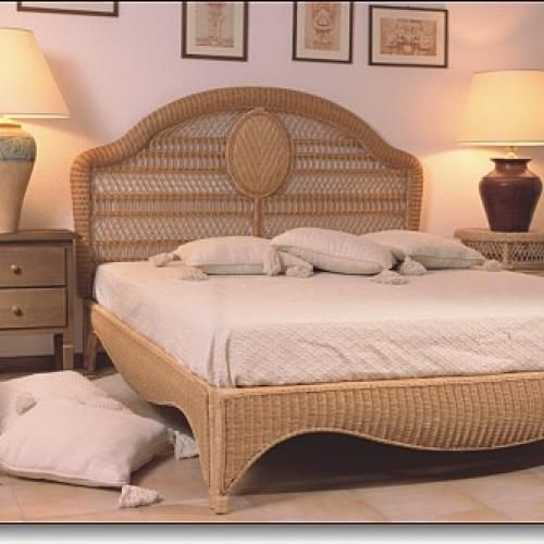 rattanbett classica rattan korbhaus. Black Bedroom Furniture Sets. Home Design Ideas