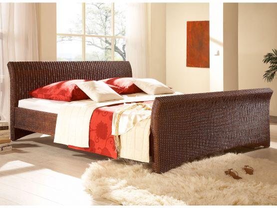 rattanbett nivada rattan korbhaus. Black Bedroom Furniture Sets. Home Design Ideas