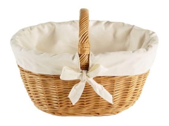 Autokorb, Textilgarnierung uni-beige