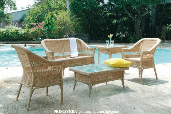 rattan 2 sitzer primavera outdoor rattan korbhaus. Black Bedroom Furniture Sets. Home Design Ideas