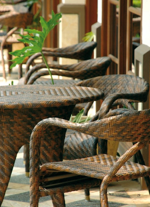 Sessel theo over outdoor rattan korbhaus for Sessel outdoor