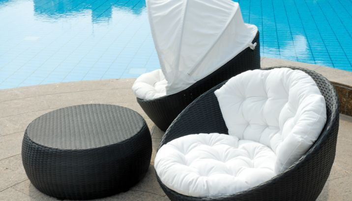 Lounge sessel rattan  Loungesessel Shell - Rattan & Korbhaus