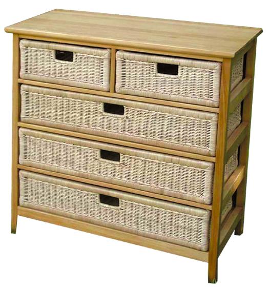 rattanregal sideboard rattan korbhaus. Black Bedroom Furniture Sets. Home Design Ideas