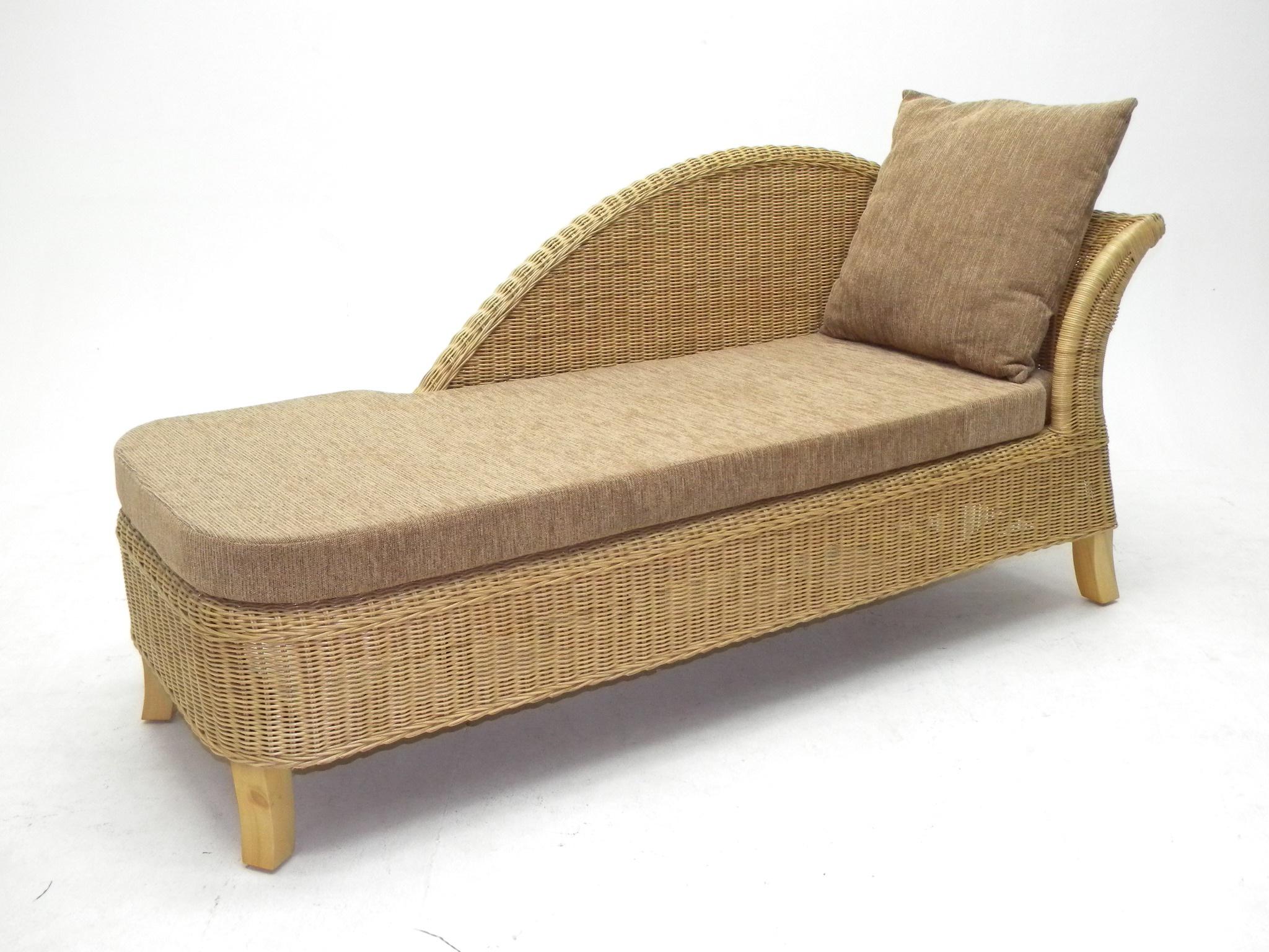 rattan recamiere rattan korbhaus. Black Bedroom Furniture Sets. Home Design Ideas