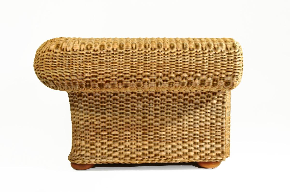 sofa giardino 2 sitzer rattan korbhaus. Black Bedroom Furniture Sets. Home Design Ideas