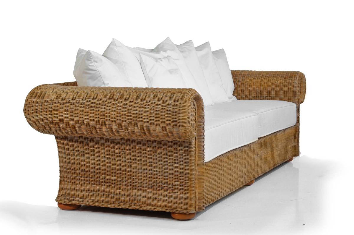 Großartig Sofa Giardino 3-Sitzer - Rattan & Korbhaus SY12