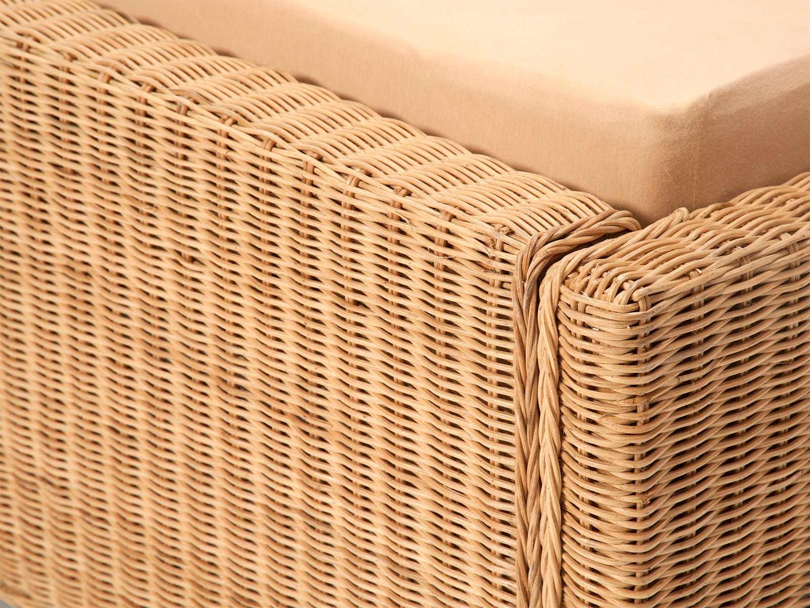 rattanbett karma komfort 180 x 200 cm rattan korbhaus. Black Bedroom Furniture Sets. Home Design Ideas