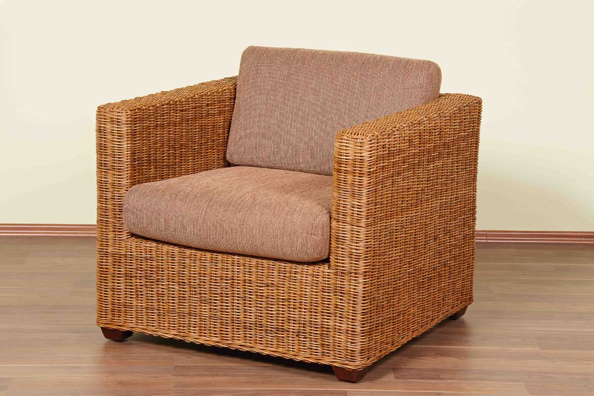 rattansofa 3 sitzer cubo rattan korbhaus. Black Bedroom Furniture Sets. Home Design Ideas