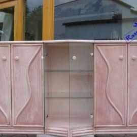 Sideboard, Kommode mit Glas Art. 50927