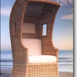 strandkorb confessionale rattan korbhaus. Black Bedroom Furniture Sets. Home Design Ideas