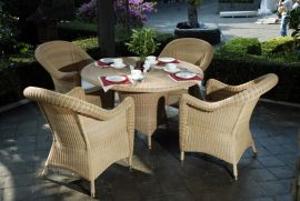 Rattan-Sitzgarnitur Consueto outdoor