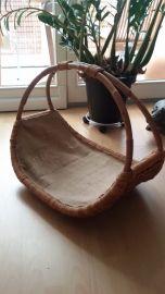 Holzkorb aus Rattan LK-004 2/J
