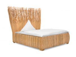 rattanbett tago 180 x 200 cm. Black Bedroom Furniture Sets. Home Design Ideas