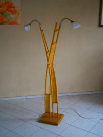 Rattan-Stehlampe  FH 155