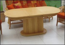 Auszugtisch-Säulentisch
