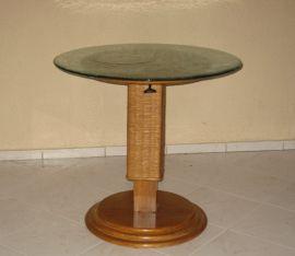 Tisch rund höhenverstellbar