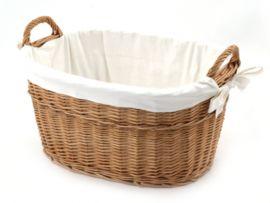 Wäschekorb, oval