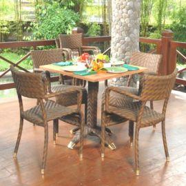 Rattan Outdoor-Sitzgruppe Anggrek