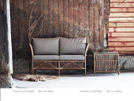 Couch Donatello Rattan 2-Sitzer